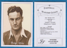 Manchester United Paddy Sloan Tranmere Rovers Ireland